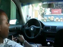 fucking an asian in public inside a car on hidden camera