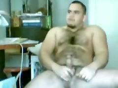 Muscle Bear Cumshot
