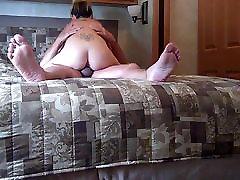 Chubby guy with escort bareback