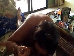 Mature Amateur suck and stroke