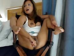 Hot Asian Milf Dirty Talk Masturbation Squirting