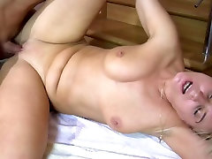 hot mature russian maid gets fucked hard