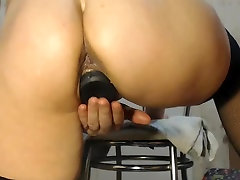 girlfriend get fisted from pussy and ass