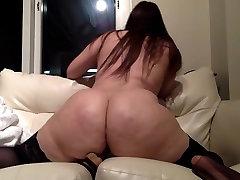 Big Butt Brunette In Stockings