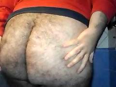 Fat ass bear
