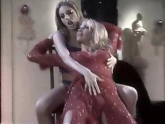Lesbian Pole Dancers Fuck Sexy Blonde