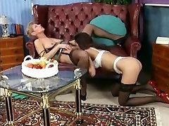 Milf Mature Lesbian Stocking Love