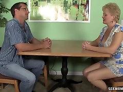 Milf sucks her husband