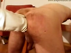 double anal fisting on male....
