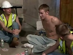 British Builder Boys Orgy