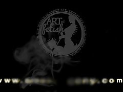 Jenny S. 001 SMOKING FETISH and orgasm TRAILER FROM SMOKEAGONY.COM