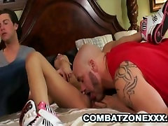 Sidnee Taylor - Petite Asian Teen Banged By Two Scary Dudes