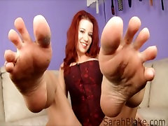 Foot Domme Photo Stream starring Redhead Femdom Sarah Blake