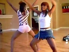Ebony Teens Dancing