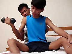 Cute Thai Boys Suck Cock and Fuck Bareback