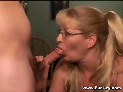 Amazing Busty Milf Hookup Squirts And Creampied