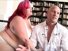 Milf Alura Jenson in Alluring Threesome with BBW Eliza Allure