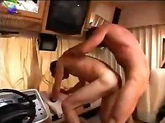Hung Daddy Fucks Twink in RV