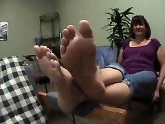 mature big soles