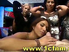 Wild Cfnm Party Suck Strippers