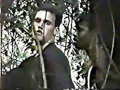 Spycam - Black Dude Fucks Model in the Night Woods Unedited - 7 min