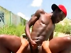 Black thug gets fucked