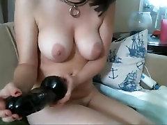 M0llyhendricksxxx Multiple anal dildo and anal gape
