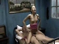 Grandpa fucks young little Lollygirl