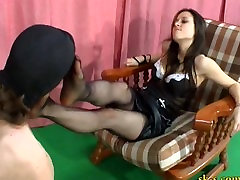 Italian Mistress Foot Worship