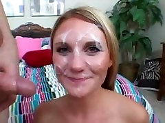 PORNLATION.COM - Facial compilation with the best faces covered in sperm