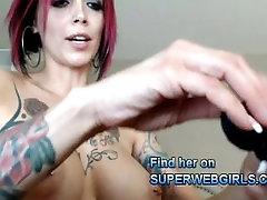 Horny tattooed redhead babe anal sex big tits MILF big squirt orgasm