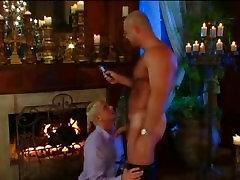 Hot Daddy fucks blonde twink