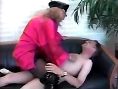 Big titted Strict MIstress Mommy Disciplines her naughty grown up son