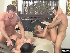 In this hardcore, MMFF, wife swapping swingers party, youll get to watch Ni