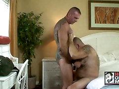 Hairy Daddies Fuck In Gay Resort