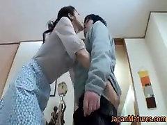 kissing mature