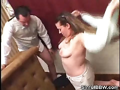 Bartender Gets Lucky With A BBW