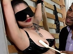 Love those special dildos in her fetish cunt