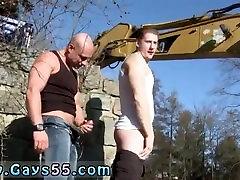 Xxx gay sex cutting photo Men At Anal Work!