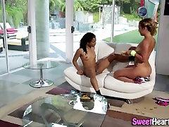 Eaten out ebony lesbian