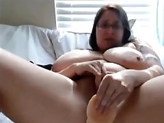 Hot Chubby Slut Playing with her wet pussy all the time