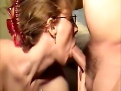 Humiliated Ugly Mature Is Still Able To Make Cock Grow Hard While Throated4