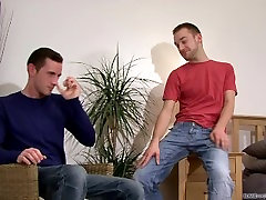 Corey Malone And Lincoln Gates cums together