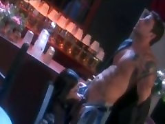 Bartender Wins Bet, Gets Sucked Off By Gorgeous Asian Babe