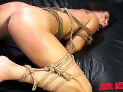 Esmi Lee Endures BDSM, Rope Bondage & Rough Anal Sex