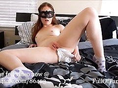 Panty Stuff & Cum: White BriefsGranny Panties! teaser