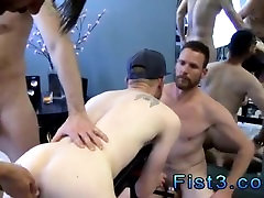 Gay ebony male fisting videos First Time Saline Injection for Caleb