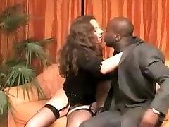 White women kissing black men