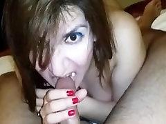Punjabi girl Indirani cute blowjob to second bf