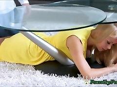 Big Boobs Milf Step-Mom Abused While Stuck